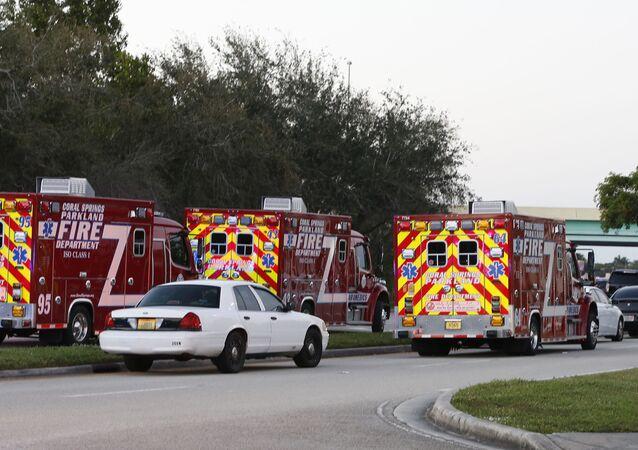 حادث إطلاق نار بمدرسة ستونمان دوجلاس الثانوية في فلوريدا، الولايا تالمتحدة 14 فبراير/ شباط 2018