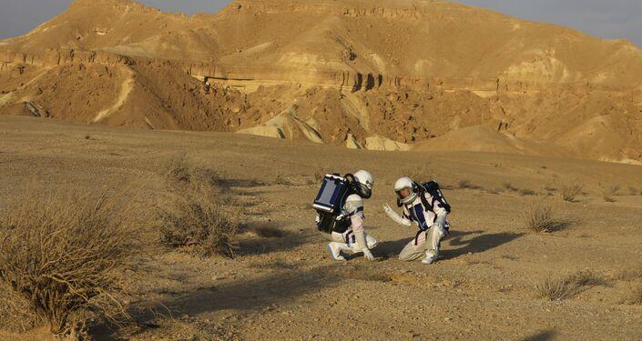 إسرائيل تجري محاكاة للعيش على المريخ في صحراء النقب - التجهيزات لبعثة مشروع فضاء D-MARS