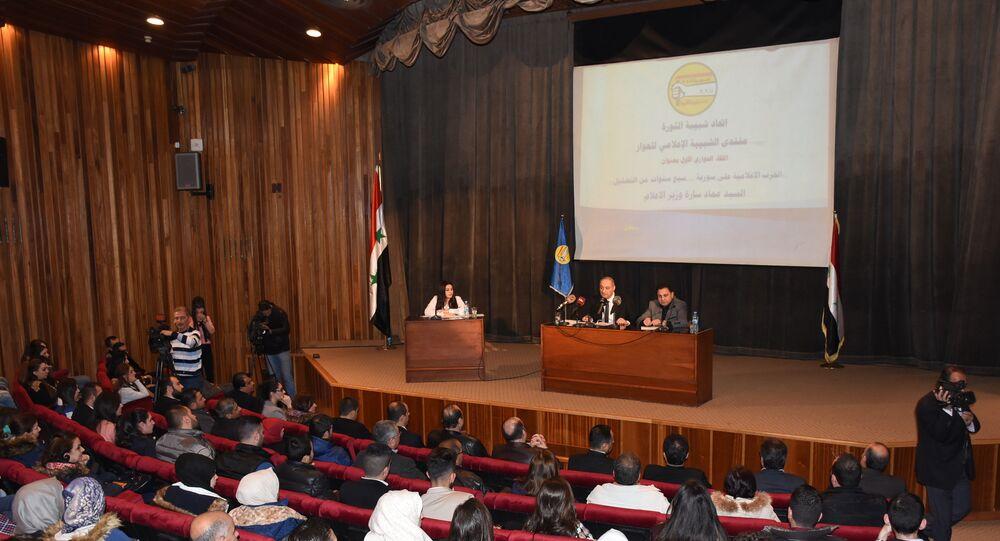 وزير الإعلام السوري: الخوذ البيضاء ممثلون ويعملون في الدراما