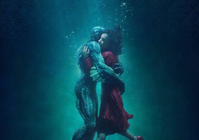 الملصق الدعائي للفيلم الأمريكي The Shape of Water