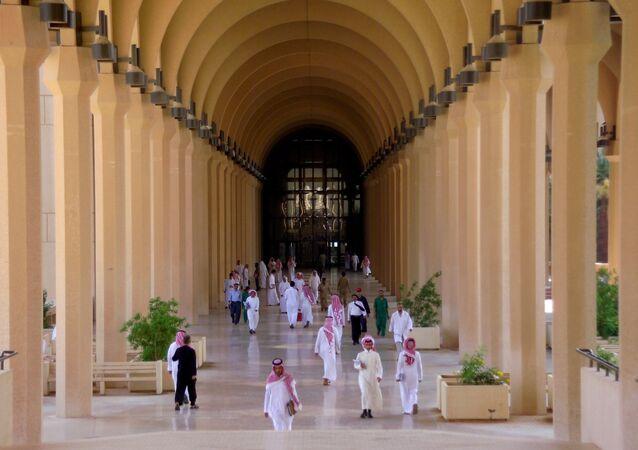 طلاب في جامعة الملك سعود