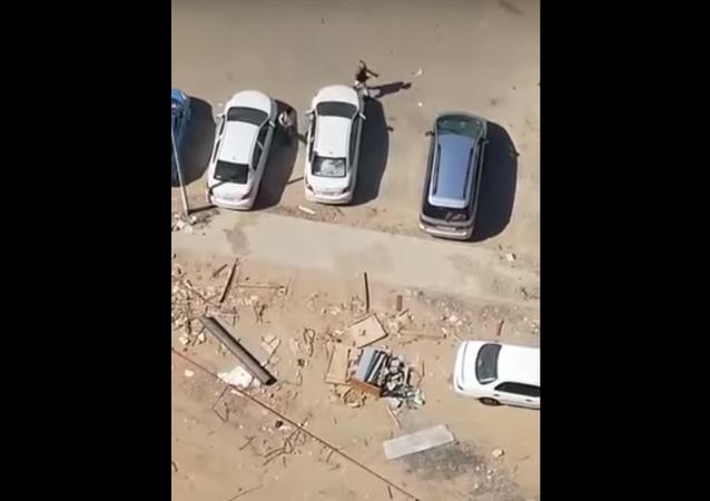 عصابة تسرق السيارات بمكة في وضح النهار