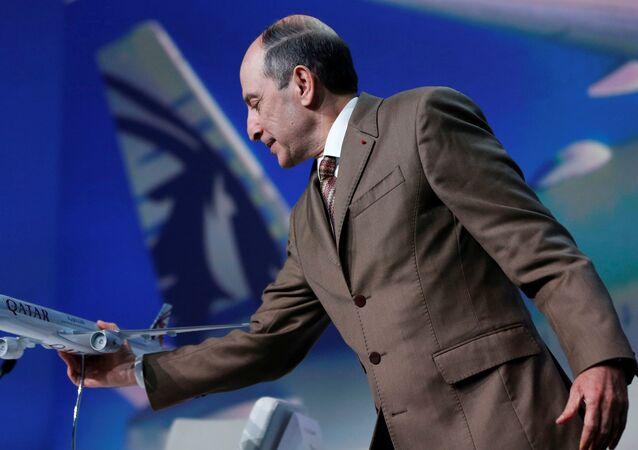 المدير التنفيذي للخطوط الجوية القطرية أكبر الباكر