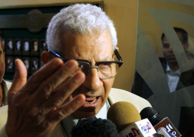 رئيس مجلس الأعلى للإعلام المصري، مكرم محمد أحمد