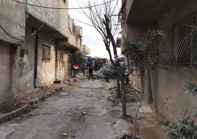 الوضع في الغوطة