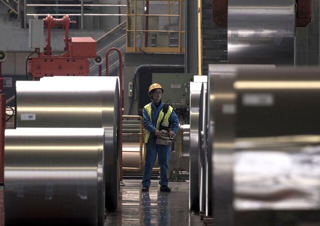 مصنع صيني للصلب