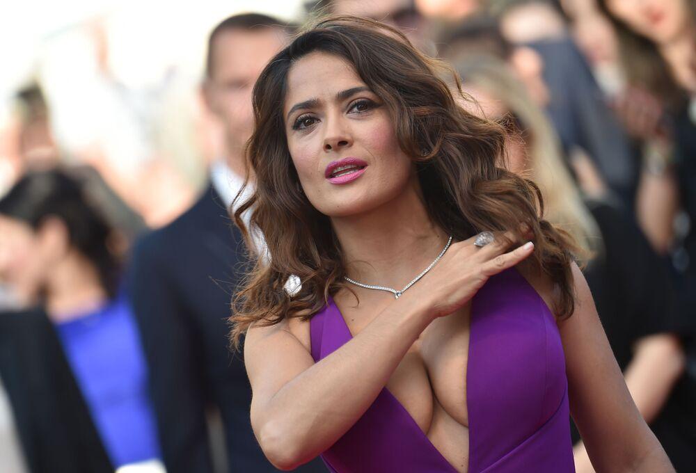 الممثلة سلمى حايك