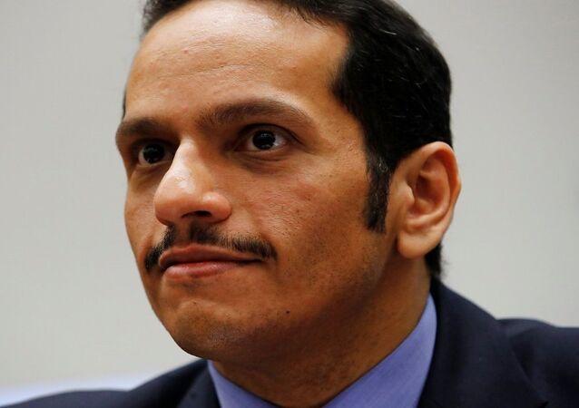 وزير خاريجة قطر الشيخ محمد بن عبد الرحمن آل ثاني