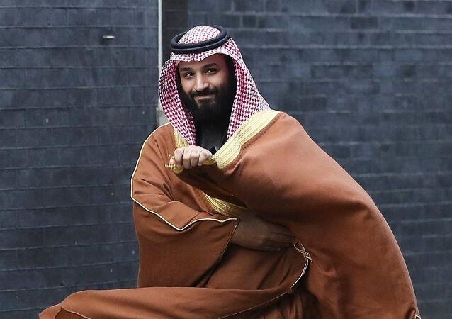 محمد بن سلمان في بريطانيا