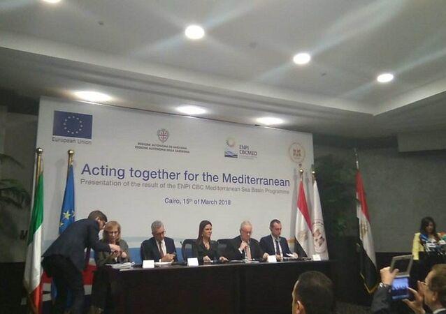 برنامج التعاون عبر الحدود لحوض البحر المتوسط الممول من الاتحاد الأوروبي