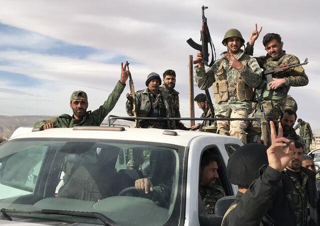 القوات السورية في الغوطة الشرقية، سوريا