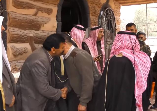 عملية التنسيق مع المدنيين في الغوطة الشرقية