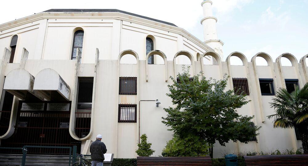 المسجد الكبير في بروكسيل