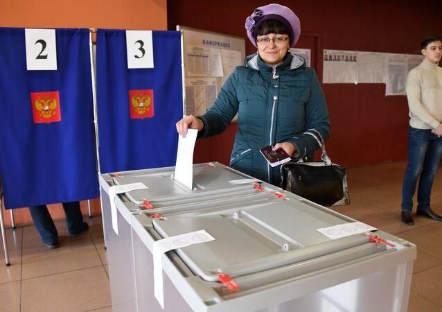 الانتخابات الرئاسية في روسيا