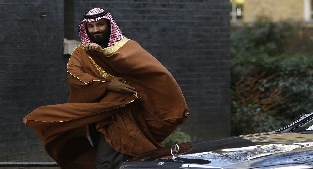 محمد بن سلمان أثناء زيارته إلى لندن