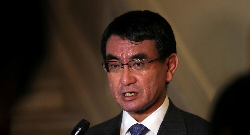وزير الخارجية الياباني كونو