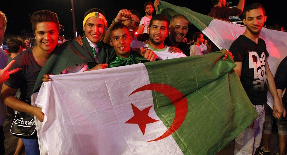 مشجعي منتخب الجزائر