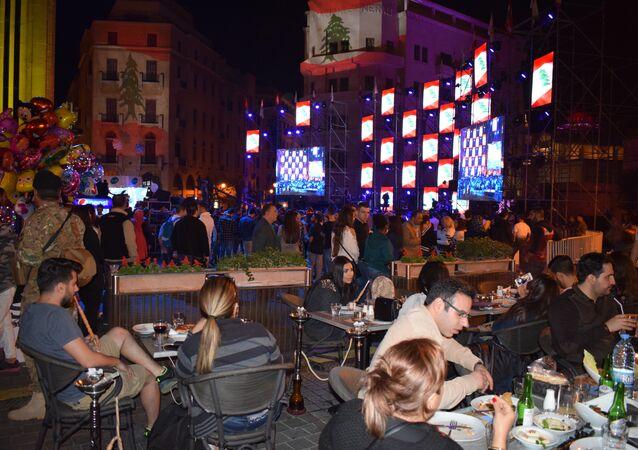 إعادة افتتاح وسط بيروت