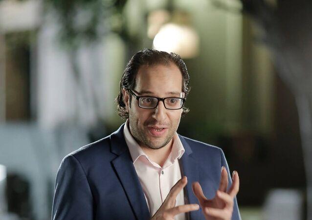 الفنان المصري أحمد أمين