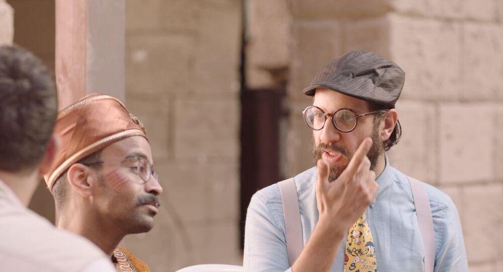 الممثل المصري أحمد أمين في مسلسل الوصية