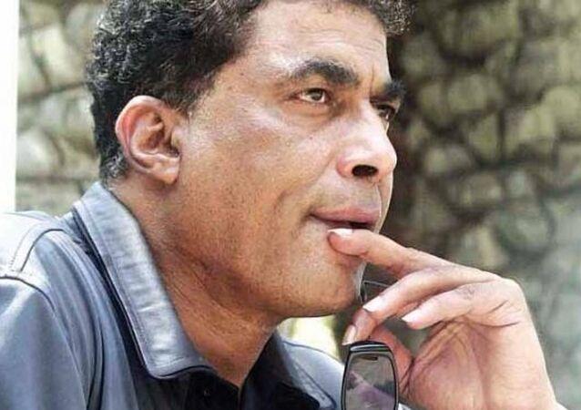 الممثل المصري أحمد زكي
