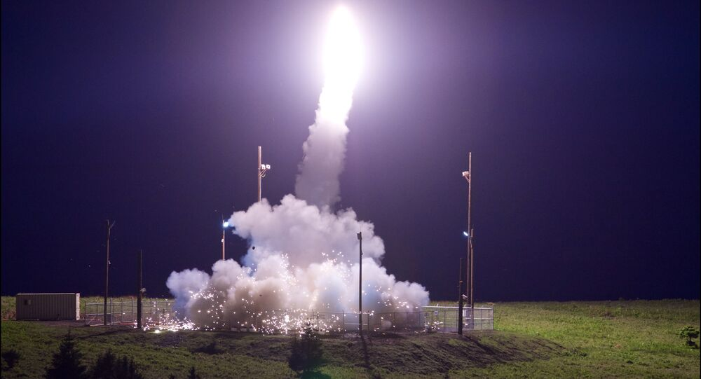 نظام الدفاع المضاد للصواريخ في ولاية الاسكا الأمريكية