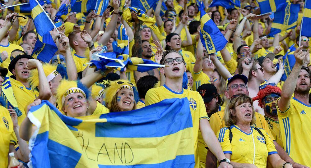 مشجعون سويديون