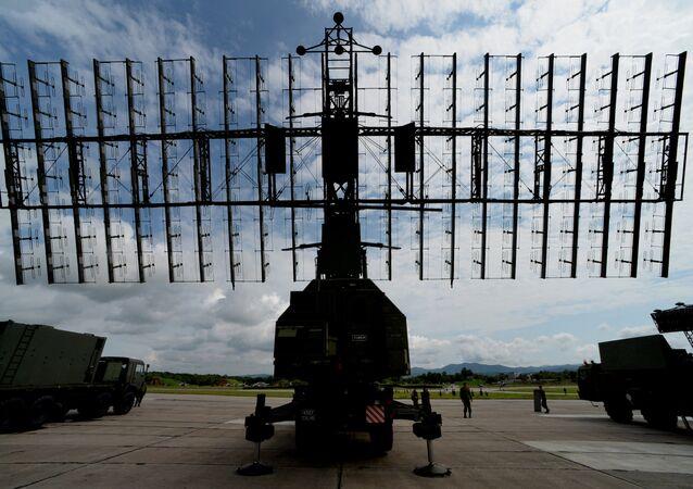 أحدث محطة رادار روسية نيبو-إم (السماء)
