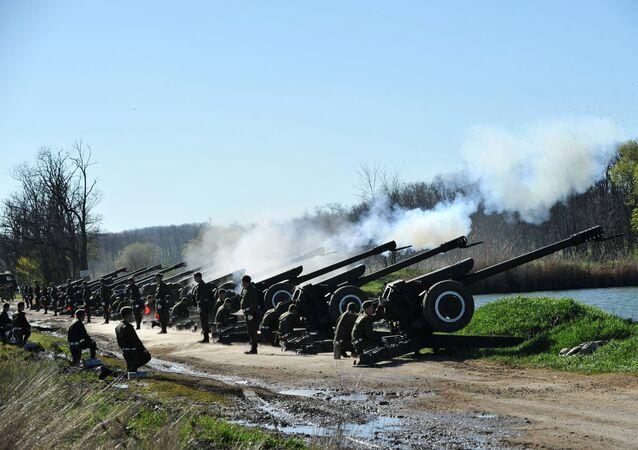 المدفعية السوفييتية دي-30