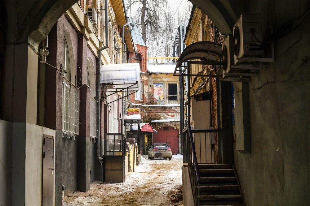 أحد أحياء مدينة نيجني نوفغورود