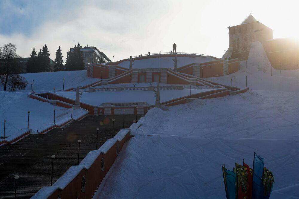 درج تشكالوفسكي في مدينة نيجني نوفغورود