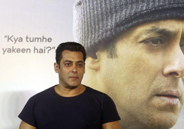الممثل الهندي سلمان خان