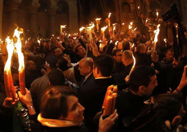 النار المقدسة في القدس