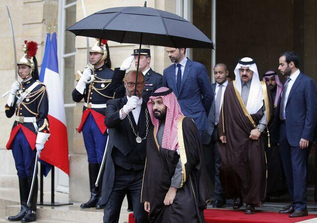 محمد بن سلمان في فرنسا