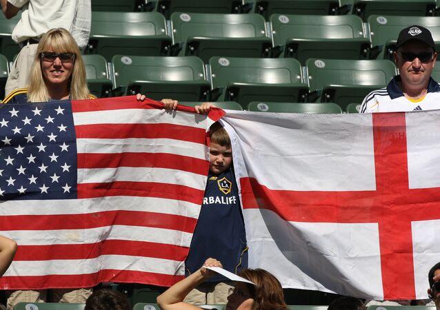 جماهير إنجليزية و أمريكية