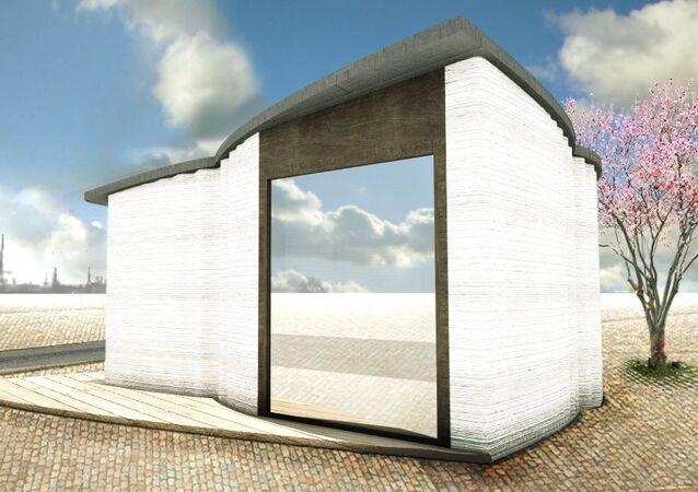 أول منزل ثلاثي الأبعاد في أوروبا