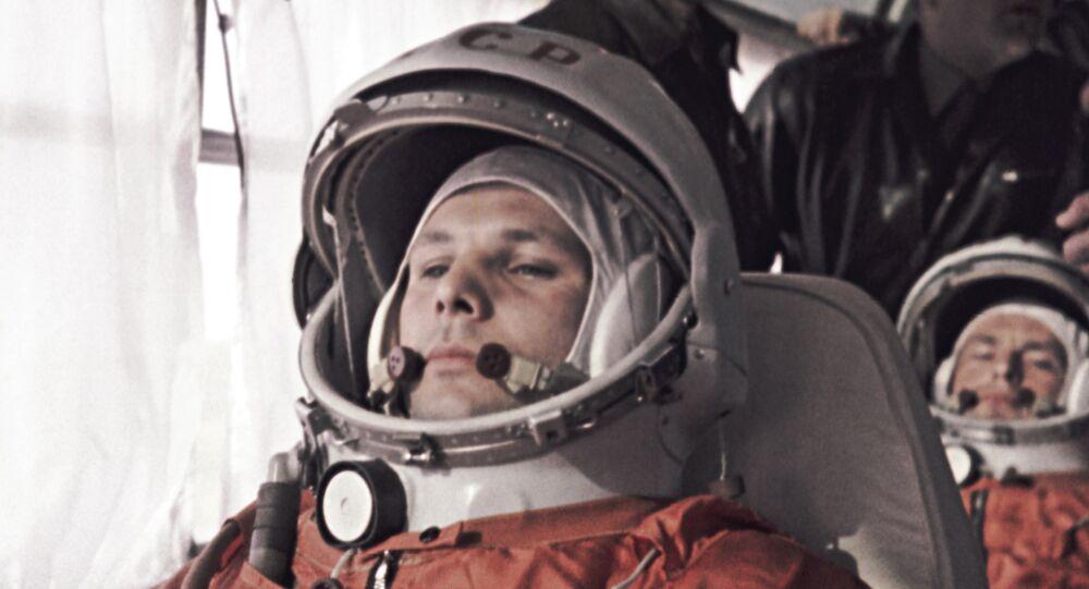 رائد الفضاء الروسي يوري غاغارين