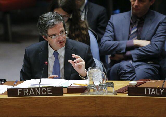 مندوب فرنسا الدائم لدى الأمم المتحدة فرانسوا ديلاتر
