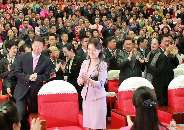 ري سولجو زوجة زعيم كوريا الشمالية كيم جونغ أون