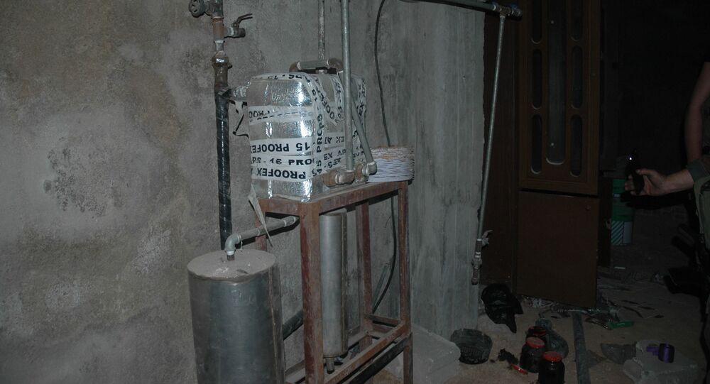 مصنع للأسلحة الكيميائية في دوما