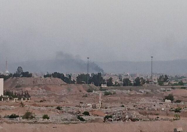 الجيش السوري يبدأ عملية جنوب دمشق