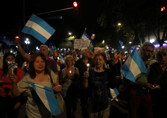 احتجاجات الأرجنتين