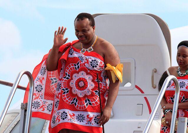 الملك ميسواتي الثالث ملك سوازيلاند