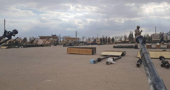 الجيش يستلم أضخم ترسانة عسكرية من فصائل الريف الشرقي لدمشق