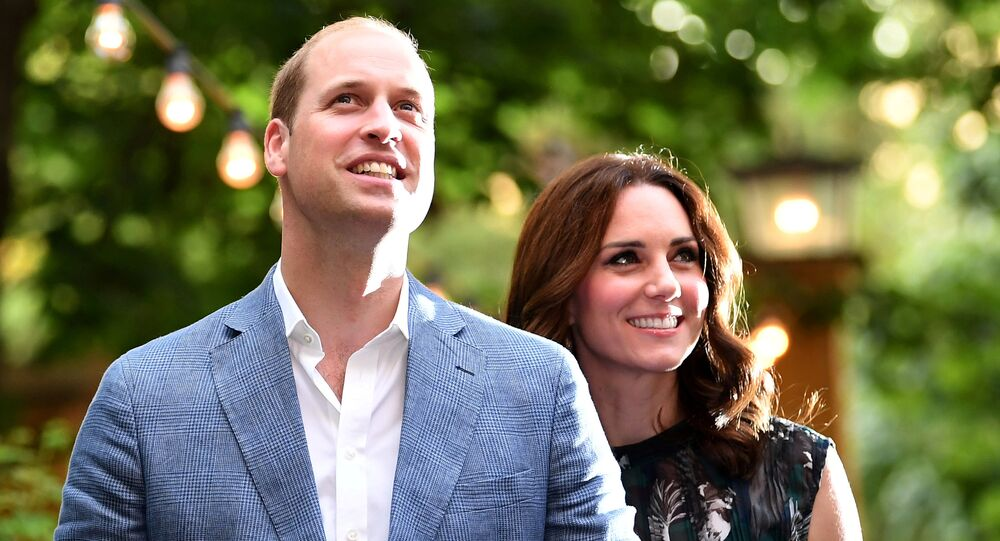 ابن ولي عهد بريطانيا، الأمير وليام، وزوجته دوقة كامبريدج، كيت ميدلتون