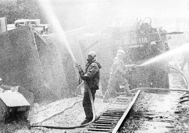 كارثة محطة تشيرنوبل النووية