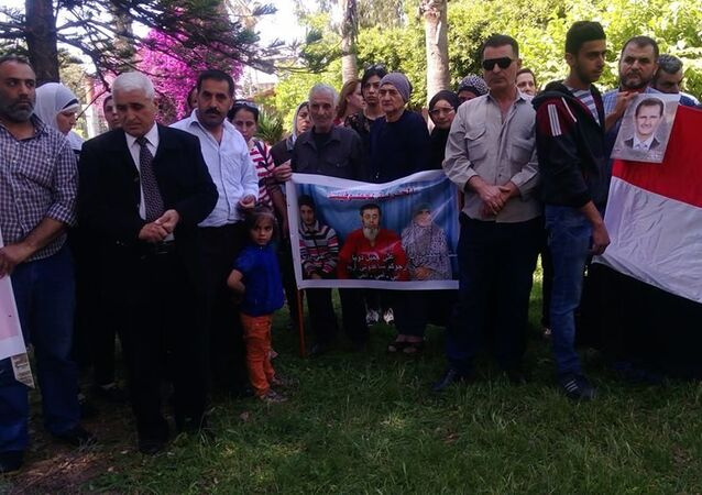 أهالي مخطوفين اشتبرق السورية يطالبون المنظمات الدولية بتحمل مسؤولياتها