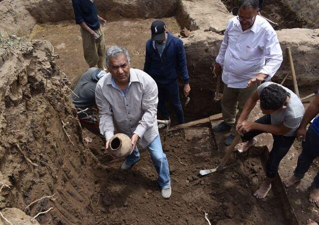 آثار مكتشفة في مصر