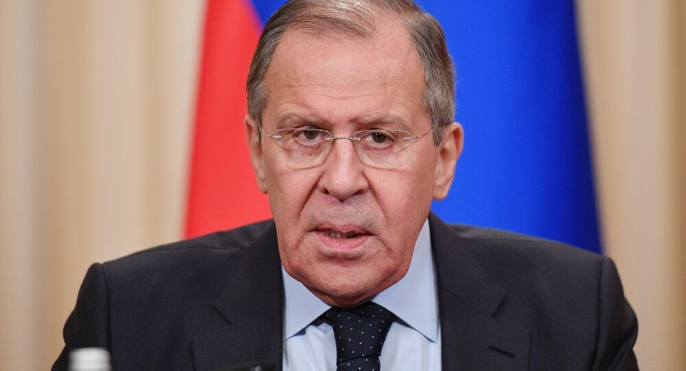 لقاء وزراء خارجية روسيا وإيران وتركيا في موسكو، 28 أبريل/نيسان 2018