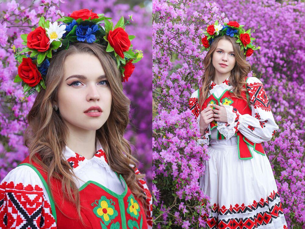 المشاركات في مسابقة جمال ملكة ربيع بيلاروسيا - فيرونيكا آداموفيتش
